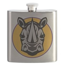 Rhino Head Flask
