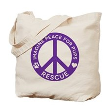 IMP4P Peace Logo Tote Bag
