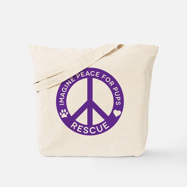 IMP4P Peace Logo Tote Bag