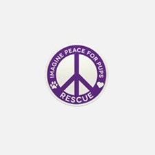 Imp4p Peace Logo Mini Button
