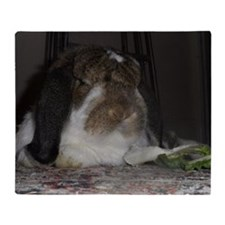 Giant French Lop Throw Blanket