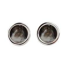 Giant French Lop Round Cufflinks