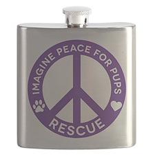 IMP4P Peace Logo Flask