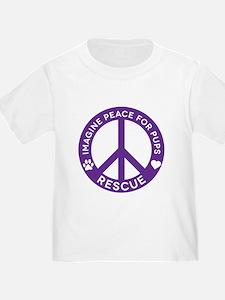 IMP4P Peace Logo T-Shirt