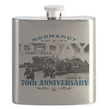 D-Day 70th Anniversary Battle of Normandy Flask