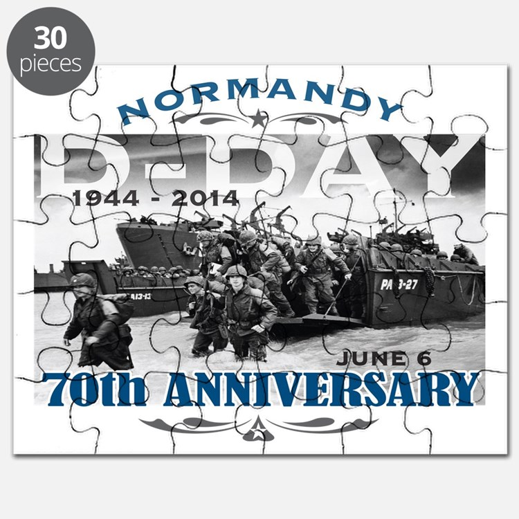 D-Day 70th Anniversary Battle of Normandy Puzzle