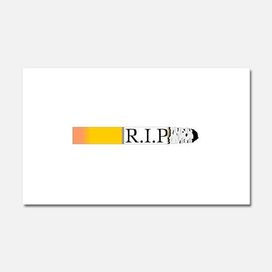 R.I.P. Car Magnet 20 x 12