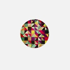 Patchwork of Colors Mini Button (10 pack)