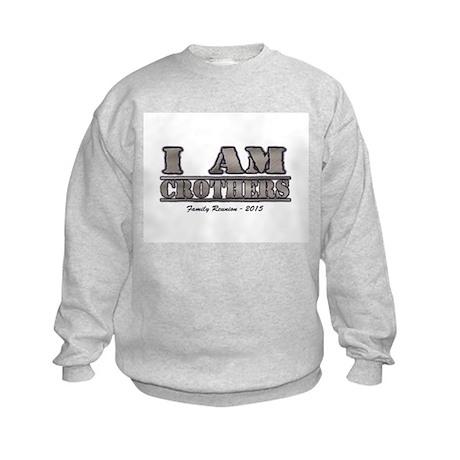 I am Crothers - 2015 Kids Sweatshirt