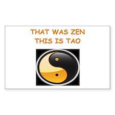 zen and tao Decal
