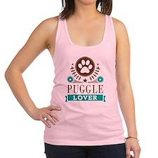 Puggle Dog Lover Racerback Tank Top