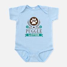 Puggle Dog Lover Infant Bodysuit