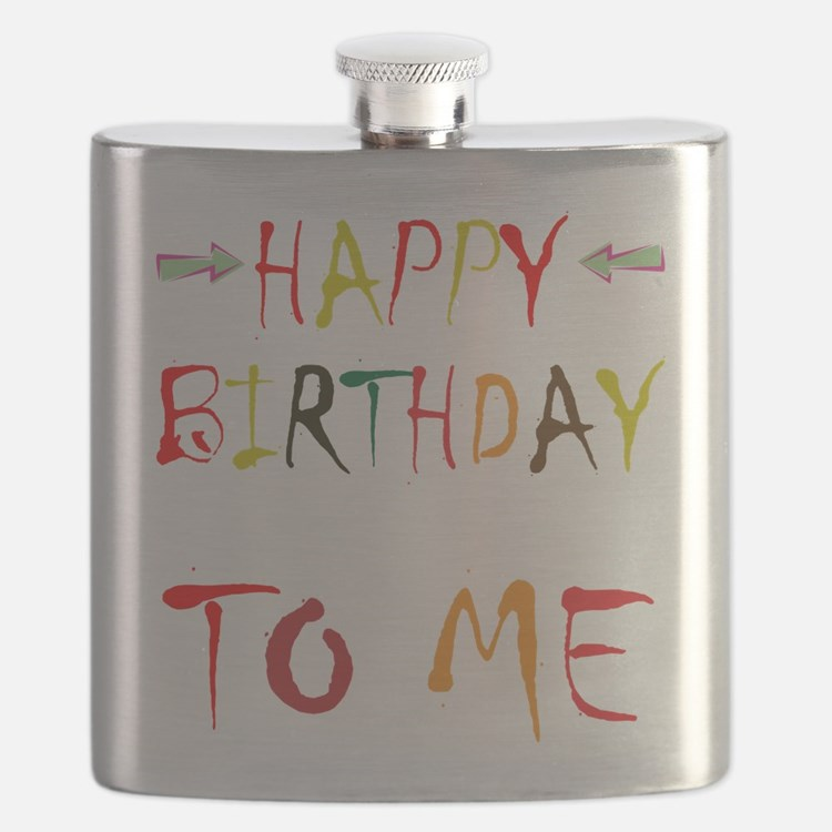 Happy Birthday To Me Flask