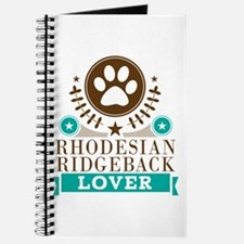 Rhodesian ridgeback Dog Lover Journal