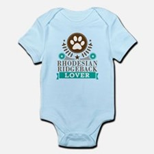 Rhodesian ridgeback Dog Lover Infant Bodysuit