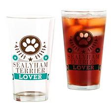 Sealyham terrier Dog Lover Drinking Glass