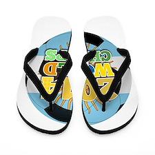 2014 World Champs Ball - Argentina Flip Flops