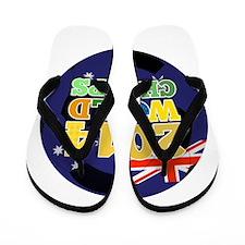 2014 World Champs Ball - Australia Flip Flops