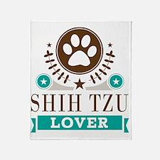 Shih tzu Dog Lover Throw Blanket