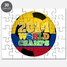 2014 World Champs Ball - Colombia Puzzle