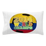Brasil soccer bedding Pillow Cases