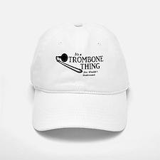 Trombone Thing Baseball Baseball Baseball Cap