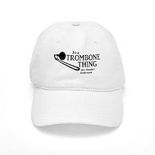 Trombone Thing Baseball Baseball Cap