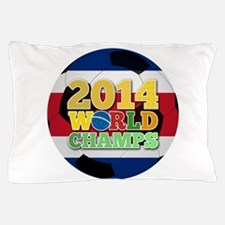 2014 World Champs Ball - Costa Rica Pillow Case