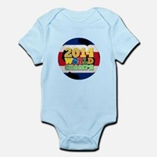 2014 World Champs Ball - Costa Rica Body Suit