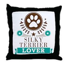 Silky terrier Dog Lover Throw Pillow