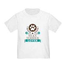 Silky terrier Dog Lover T