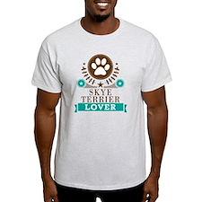 Skye terrier Dog Lover T-Shirt