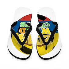 2014 World Champs Ball - Ecuador Flip Flops