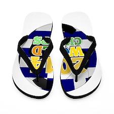2014 World Champs Ball - Greece Flip Flops