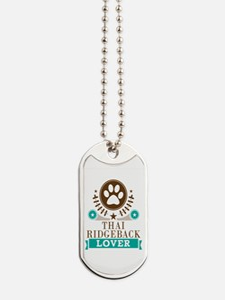Thai ridgeback Dog Lover Dog Tags