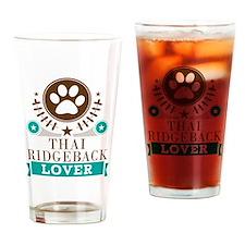 Thai ridgeback Dog Lover Drinking Glass