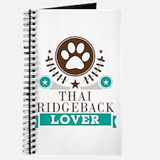 Thai ridgeback Dog Lover Journal