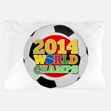 2014 World Champs Ball - Japan Pillow Case