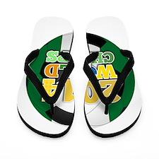 2014 World Champs Ball - Nigeria Flip Flops