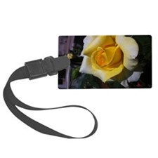 Yellow Rose - Friendship Luggage Tag
