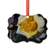 Yellow Rose - Friendship Ornament
