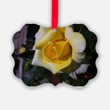 Yellow Rose - Friendship Ornament