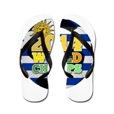 2014 World Champs Ball - Uruguay Flip Flops