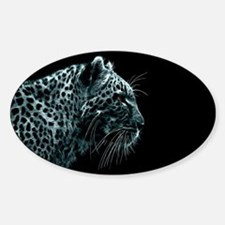 Snow Leopard Decal