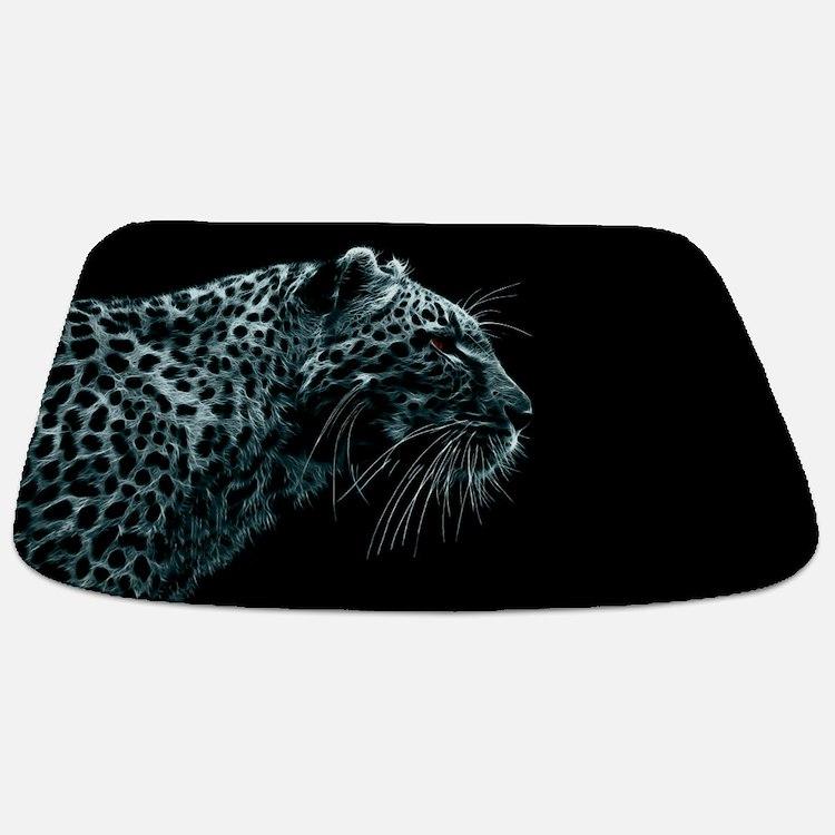 Snow Leopard Bathmat