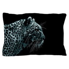 Snow Leopard Pillow Case