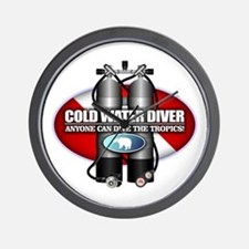 Cold Water Diver (ST) Wall Clock