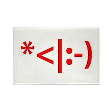 Christmas Elf Emoticon Smiley Magnets