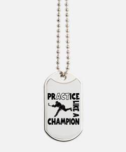 HOCKEY CHAMPION Dog Tags