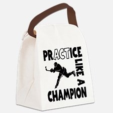 HOCKEY CHAMPION Canvas Lunch Bag